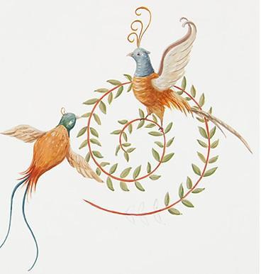 16 motif oiseau paon2